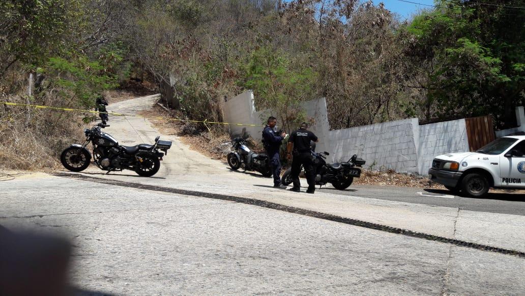 Localizan cadáver en estado de putrefacción, en Acapulco