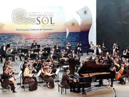 Mauricio Náder, invitado de la Orquesta Filarmónica de Acapulco