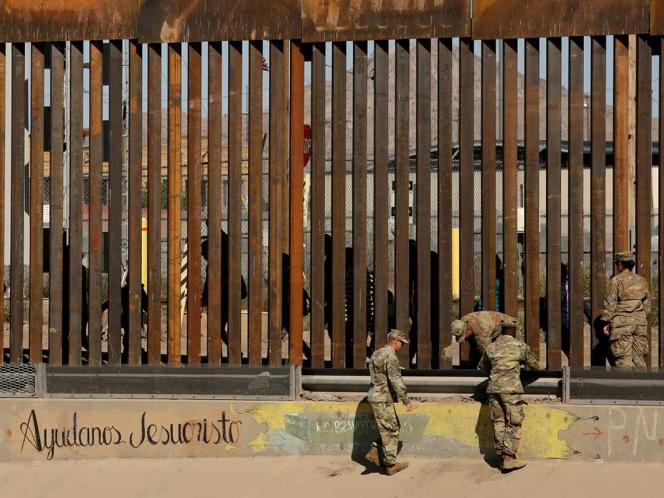 Acusa Trump a soldados mexicanos de agresión en la frontera