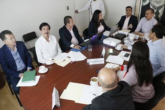 Se reúne comisión de vigilancia con titular de la Auditoría Superior del Estado