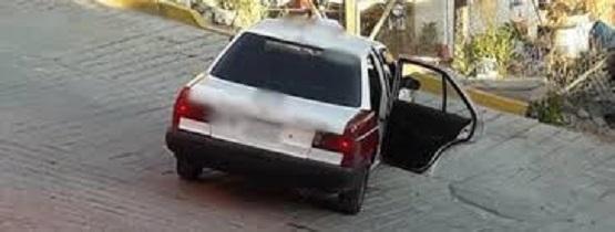 Asaltan a taxista en la colonia Atlitenco de Chilpancingo