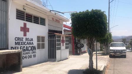 Cierra la Cruz Roja de Chilapa por la violenciaimparable