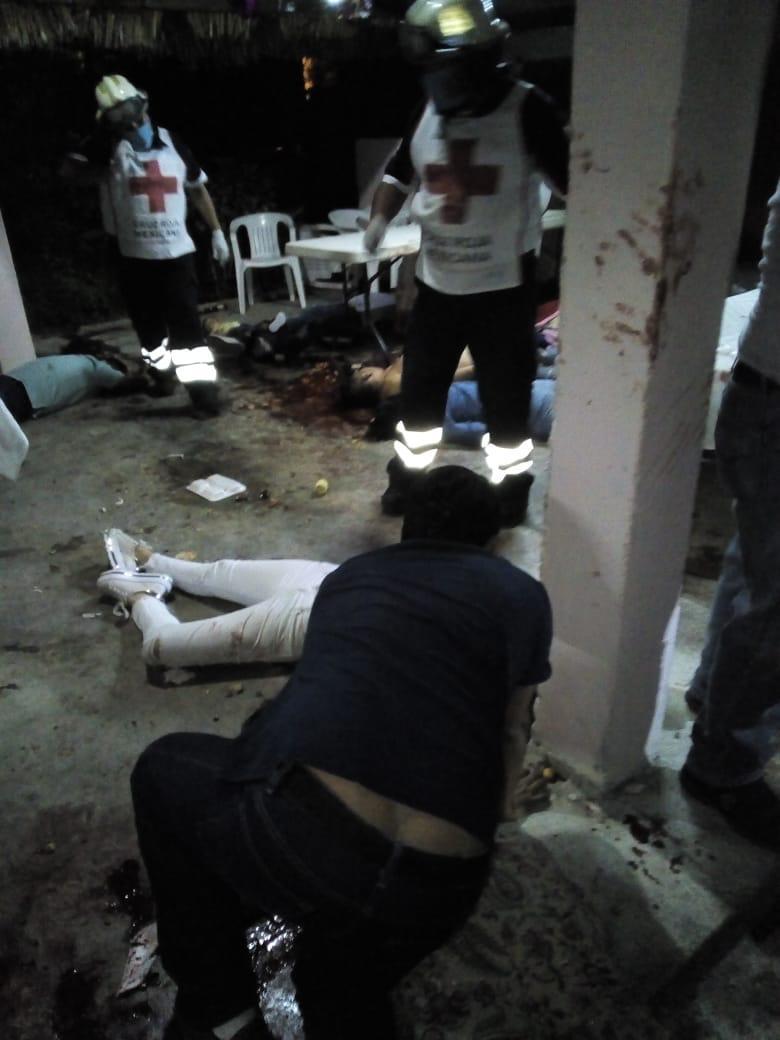 Masacre en Veracruz; 13 muertos