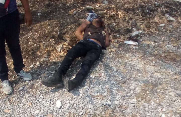 Acribillan a un hombre cerca de la carretera estatal Apango-Zoltotitlán