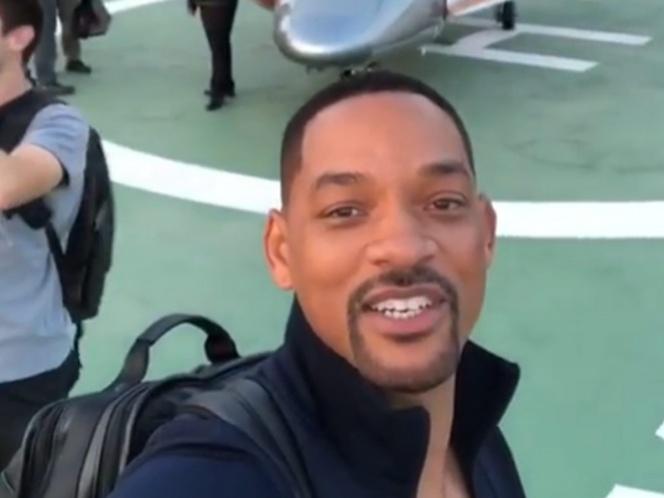 Will Smith disfruta la CDMX y manda video a sus fans