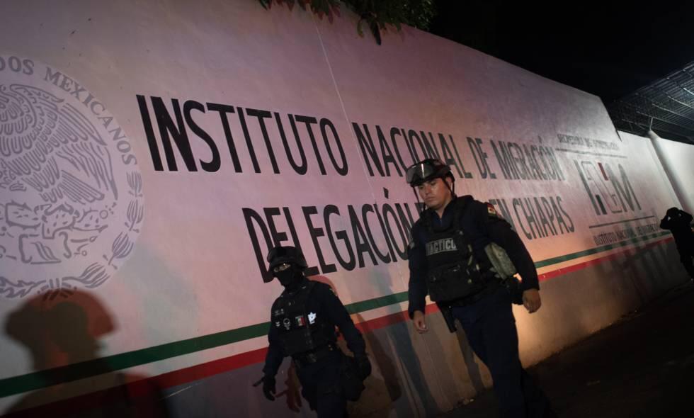 Más de mil migrantes se fugan de un centro de detención de extranjeros en el sur de México