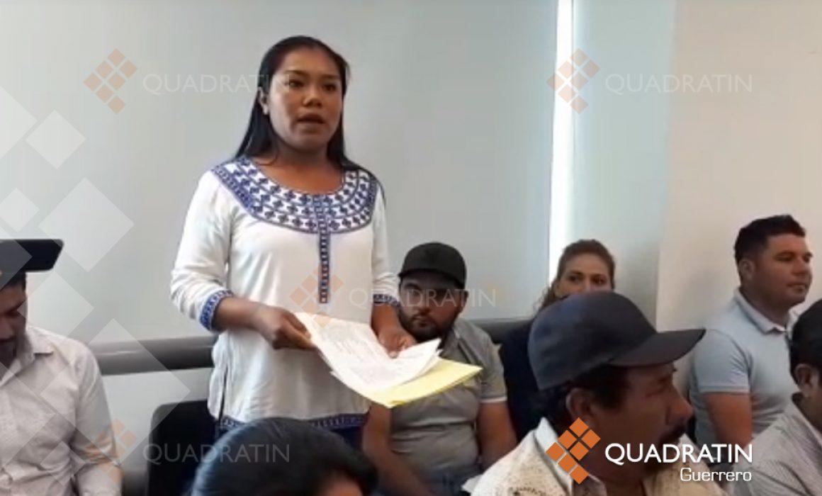 Niegan pobladores de la sierra que reciban apoyo de programas federales