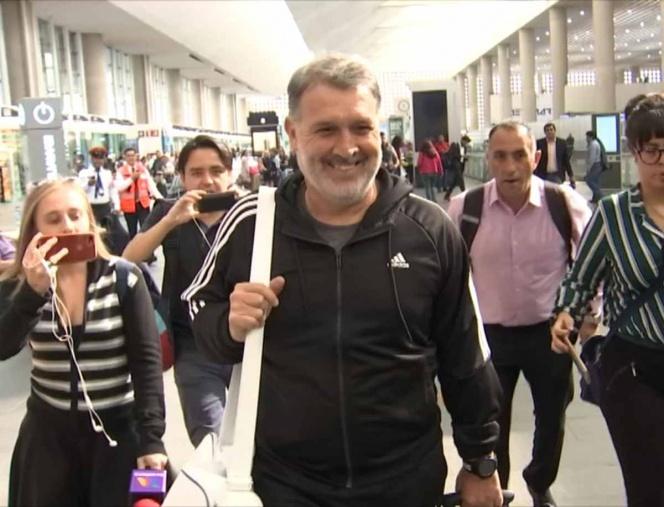 Martino viaja al sorteo de la Copa Oro 2019