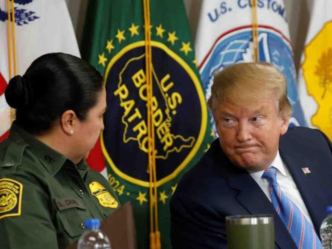 Trump agradece 'apoyo' de México pero el muro continúa