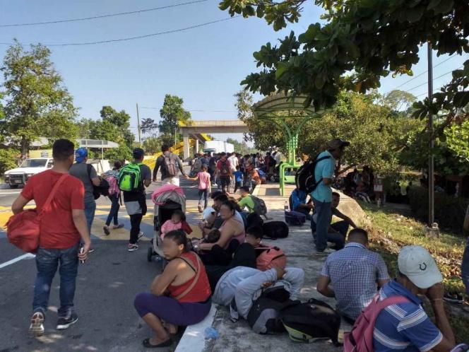 Ingresan cerca de 3 mil migrantes a México por Chiapas