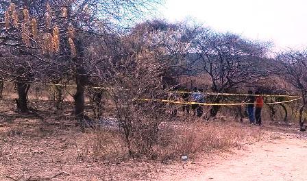 Localizan cuerpo en fosa clandestina en Huitzuco