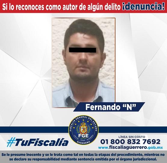 Fiscalía de Guerrero y en colaboración con Fiscalía de Estado de México capturan por secuestro a ex candidato a la alcaldía de Pilcaya.