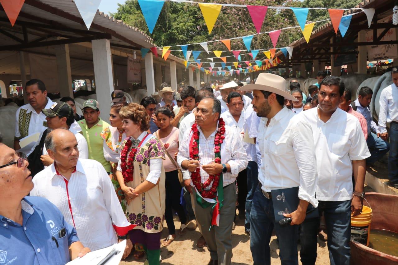 Inaugura el Gobernador la 47 Expo Feria Ometepec