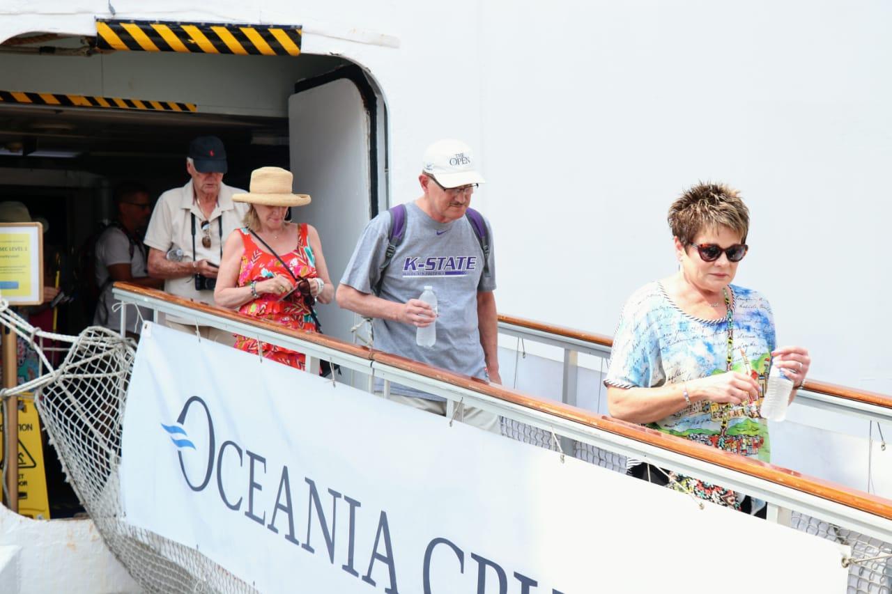 Arriban dos cruceros con mil 872 personas abordo al puerto; a la alza la ocupación hotelera a un día del Tianguis Turístico