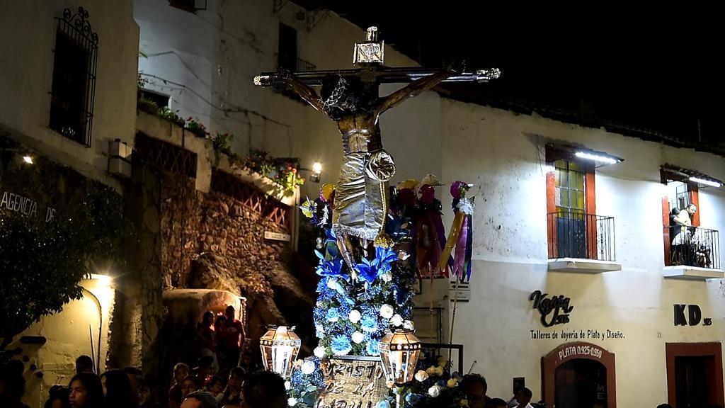Así se vive la Semana Santa en Taxco