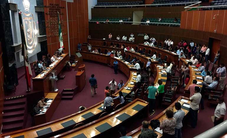 Diputados locales volverán a sesionar en el TSJ por paro