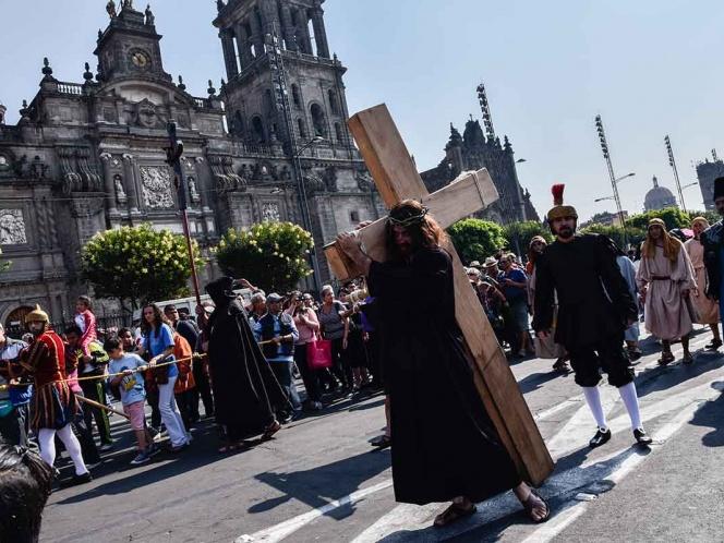 Evento religioso provocará afectaciones viales en el Zócalo