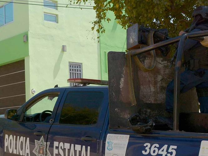 Disparan a policías en Colima; reportan 5 detenidos