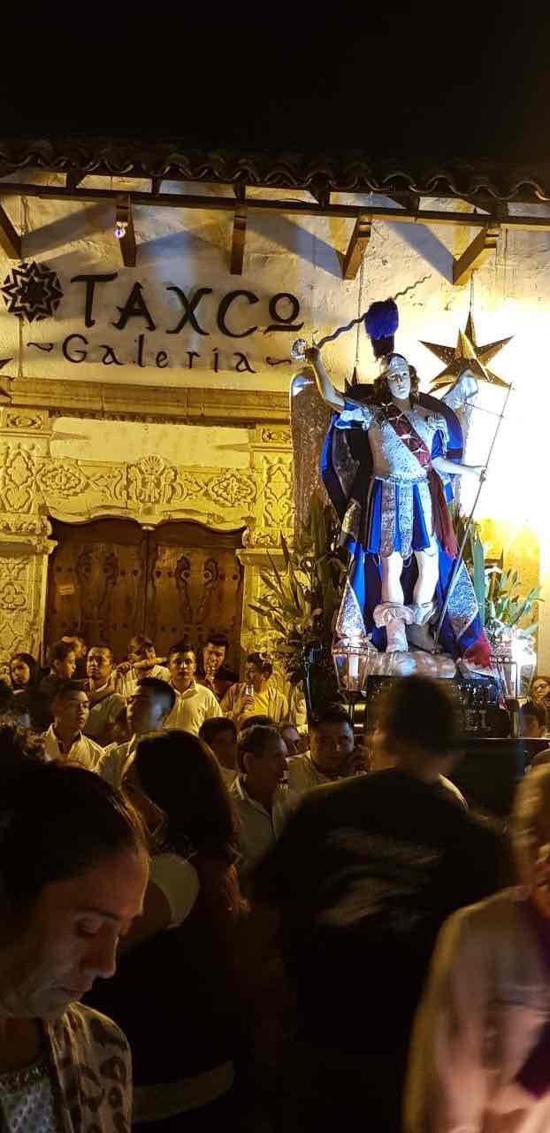 Taxco vive con éxito su tradición centenaria: la Procesión del Silencio.