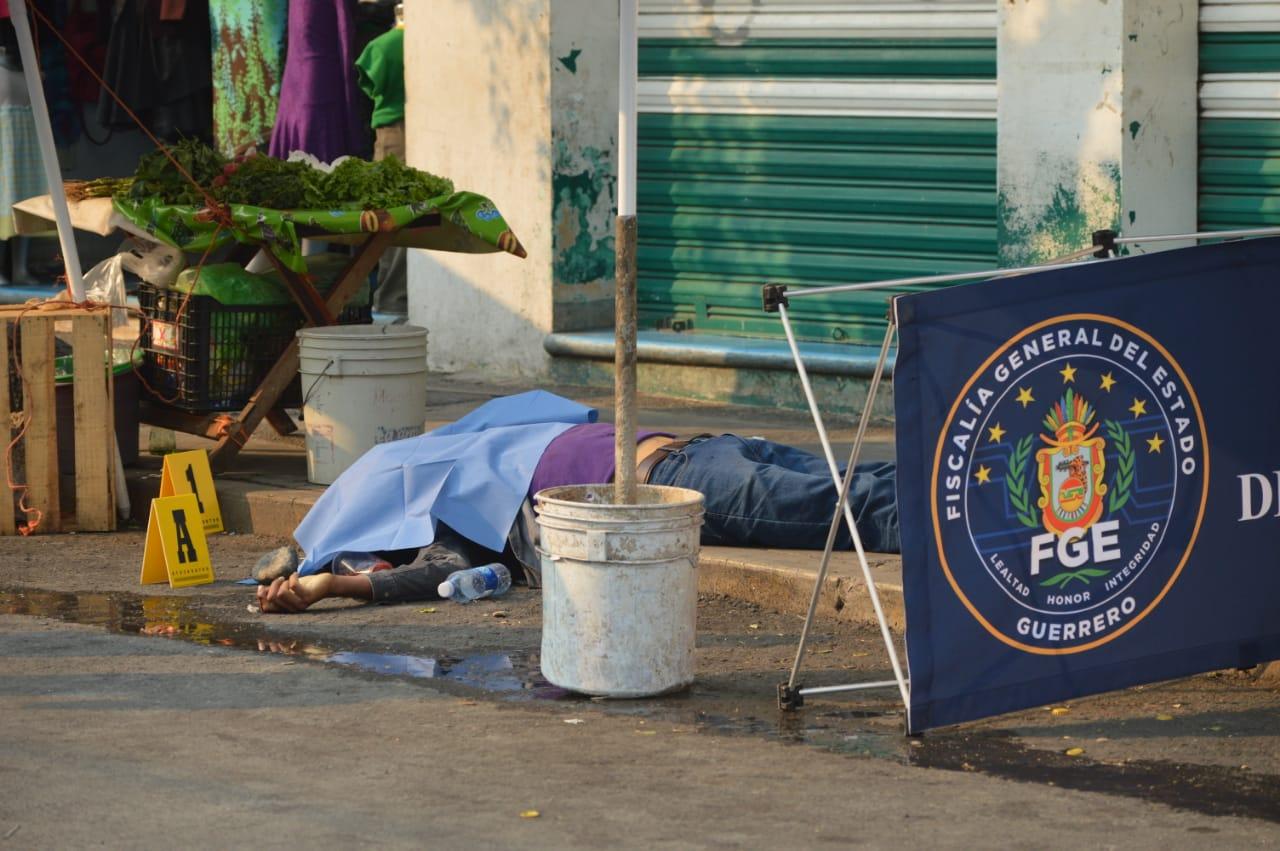 Ejecutan a un militar en el barrio San Francisco de Chilpancingo