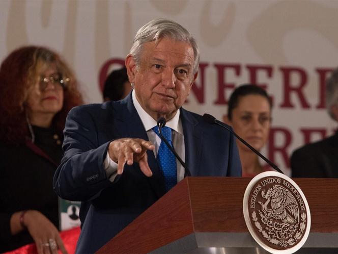 Primer Informe de Gobierno de López Obrador será el 1 de julio