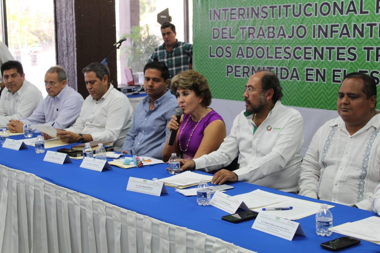 Instalan las siete comisiones regionales para erradicar el trabajo infantil en Guerrero