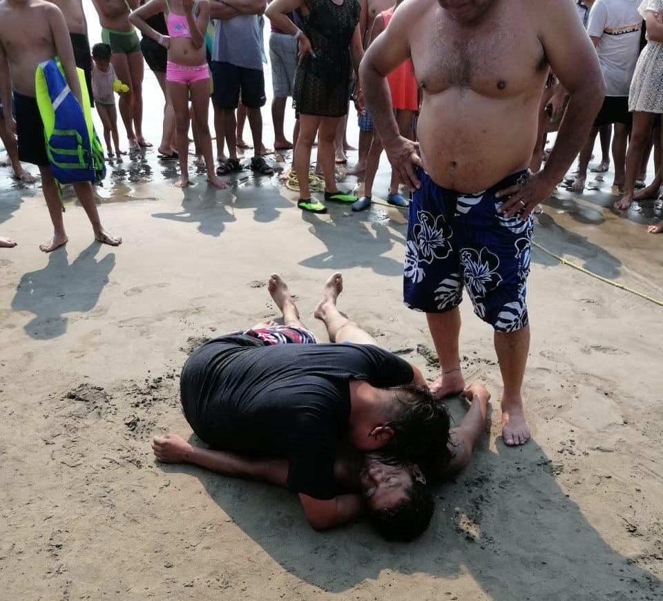 Mar de Fondo deja tercer víctima mortal en playas de Zihuatanejo