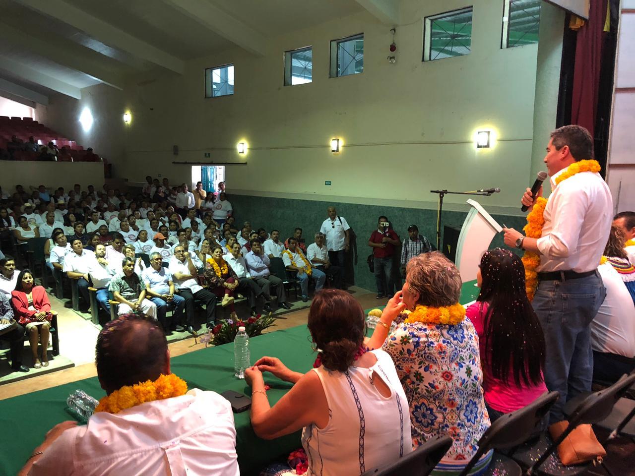 En Chilapa de Álvarez sostiene presidente del PRI Guerrero importante reunión de trabajo con estructura política municipal  por Jornada de Afiliación