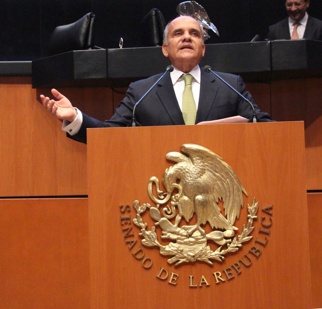 Añorve impulsó y apoyó reforma constitucional en materia de paridad de género en el Senado de la República