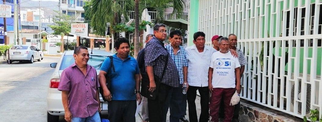 Ejidatarios de Acapulco exigen a Tribunal Agrario no corromper fallos Acusan a director de secundaria