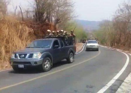 Temen otro choque entre policías comunitarios en Xaltianguis