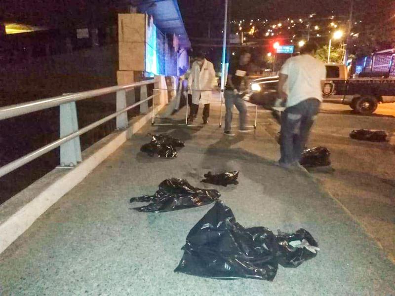 Cuatro ejecutados y dos desmembrados en Acapulco
