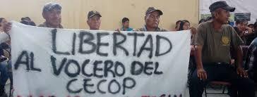 A juicio los 16 integrantes del CECOP criminalizados Los 16 defensores se encuentran detenidos