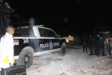 Localizan tiradero de cadáveres en un paraje del municipio de Eduardo Neri