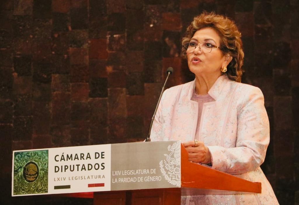 """(Video) El Plan Nacional de Desarrollo """"marca el inicio de un nuevo régimen"""": Adela Román"""