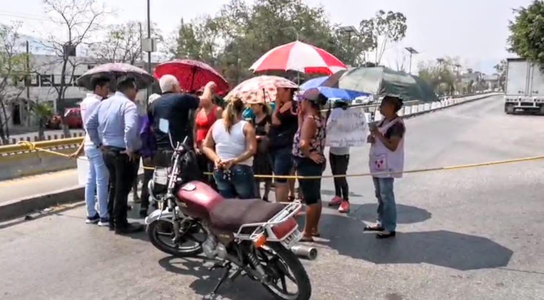 Por falta de agua, más bloqueos en Chilpancingo