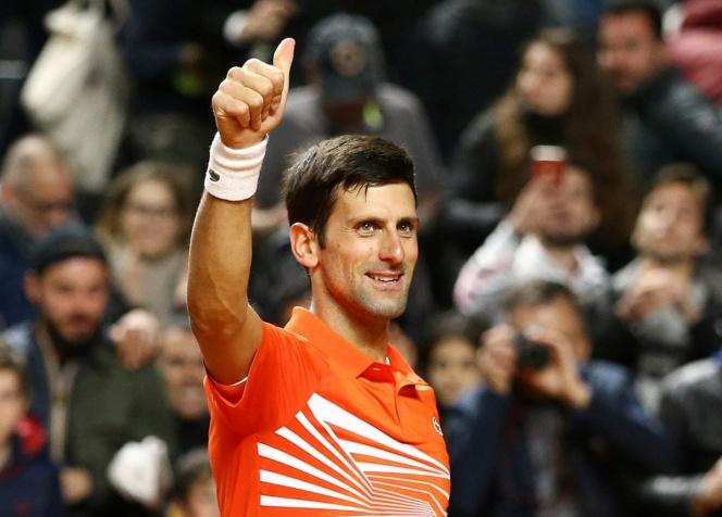 Djokovic se instala en cuartos de final del Abierto de Roma