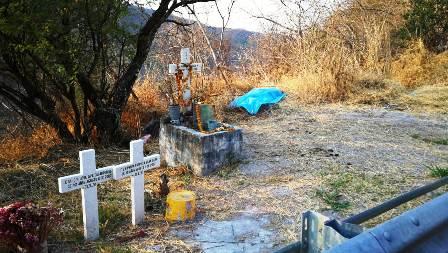 Dejan a dos hombres ejecutados sobre la carretera federal Chilpancingo Tixtla