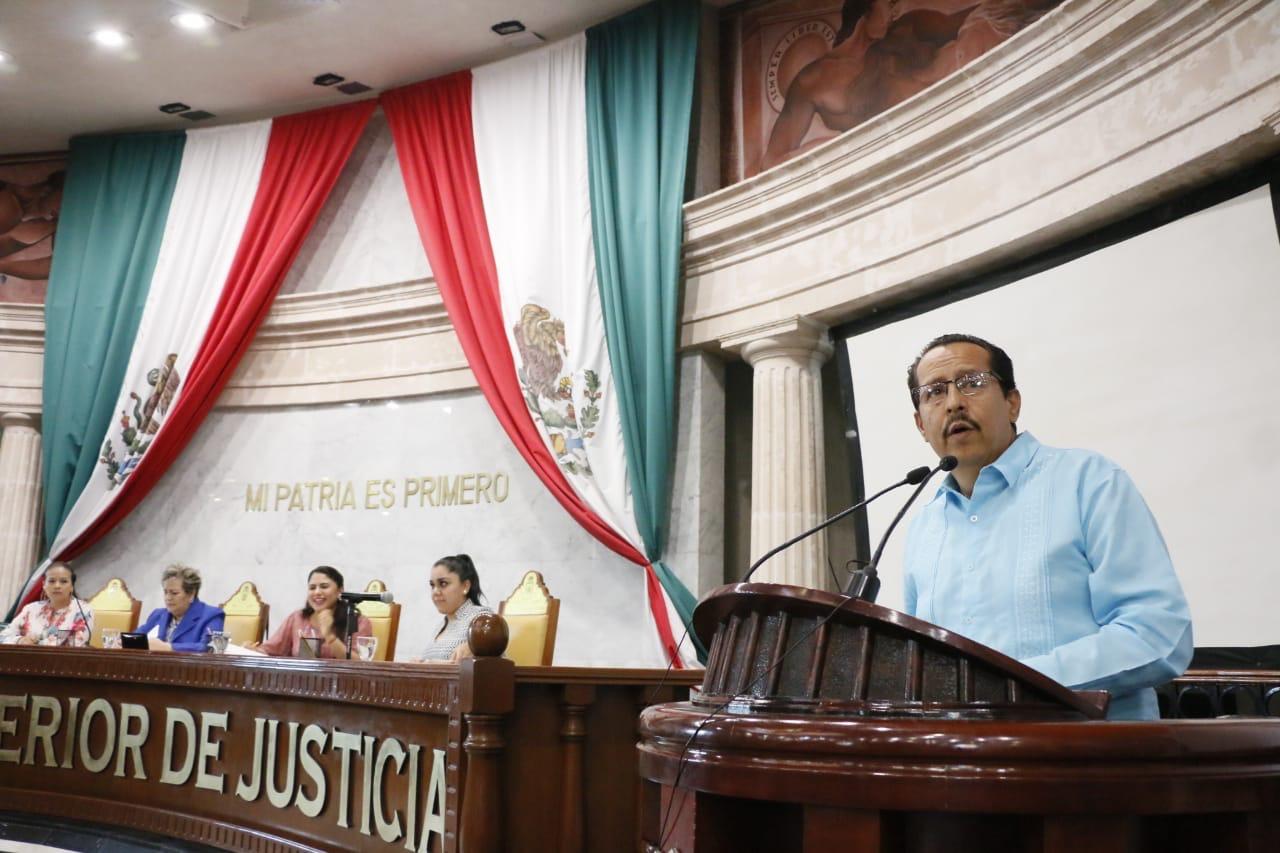 Presenta Diputado Carlos Cruz iniciativa de la gratuidad del registro de nacimiento