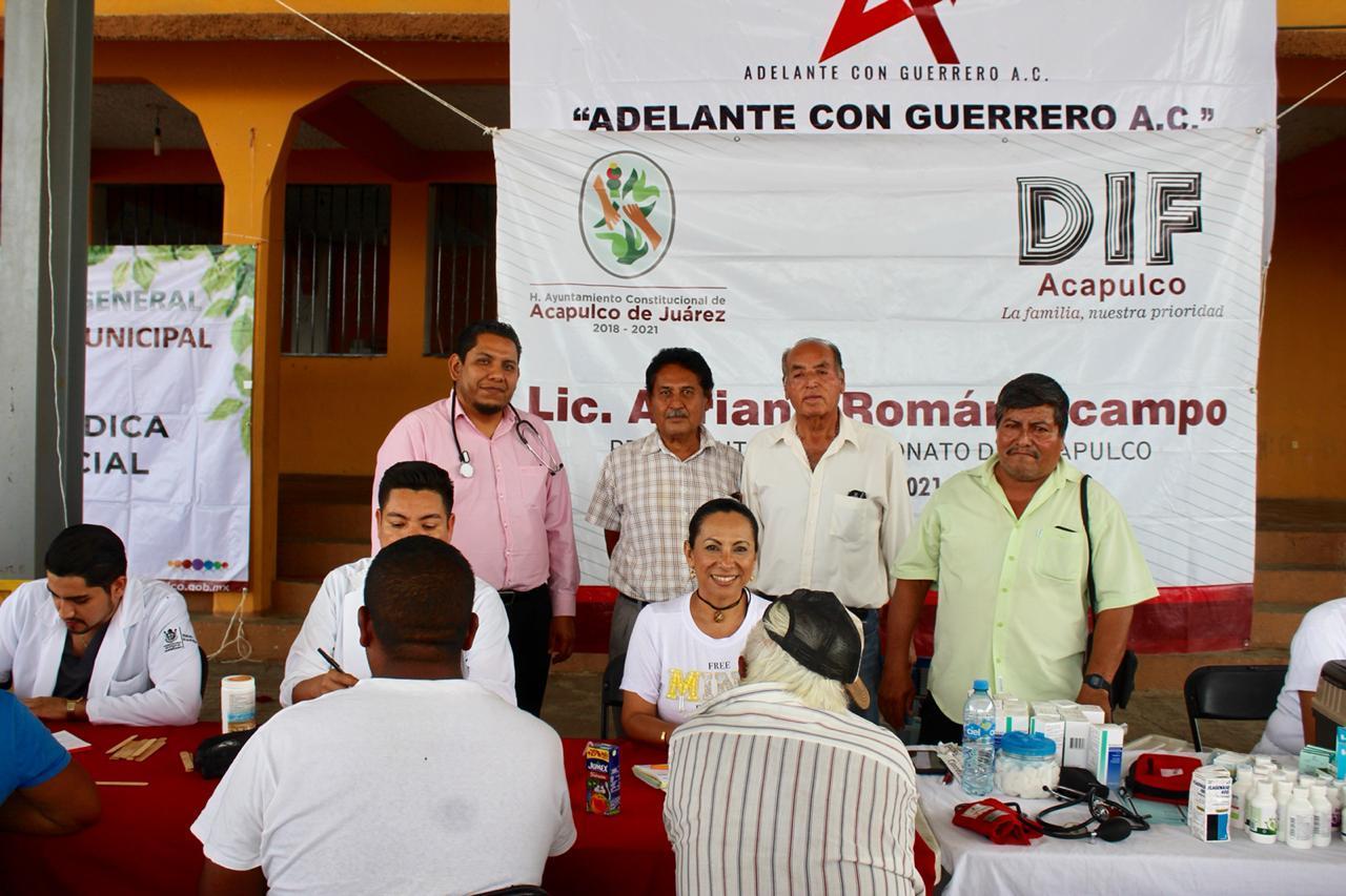 (Video) La zona rural, prioridad para el gobierno de Acapulco, dice Adriana Román