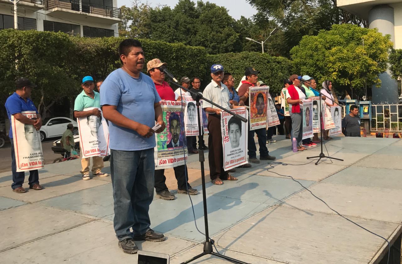 Padres de los 43, buscarán a sus hijos en Iguala a 56 meses de su desaparición