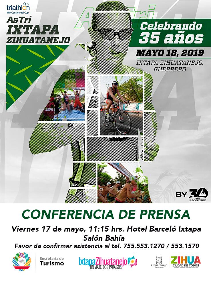 Destinos de Guerrero sedes de grandes eventos como el Triathlón AS TRI IXT-ZIH, La Urban Trail en Taxco y el Congreso de Veterinarios