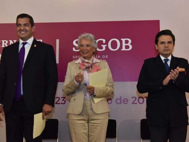 Ricardo Peralta toma protesta como subsecretario de Gobernación