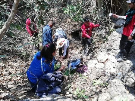 Madres Igualtecas encuentran restos humanos
