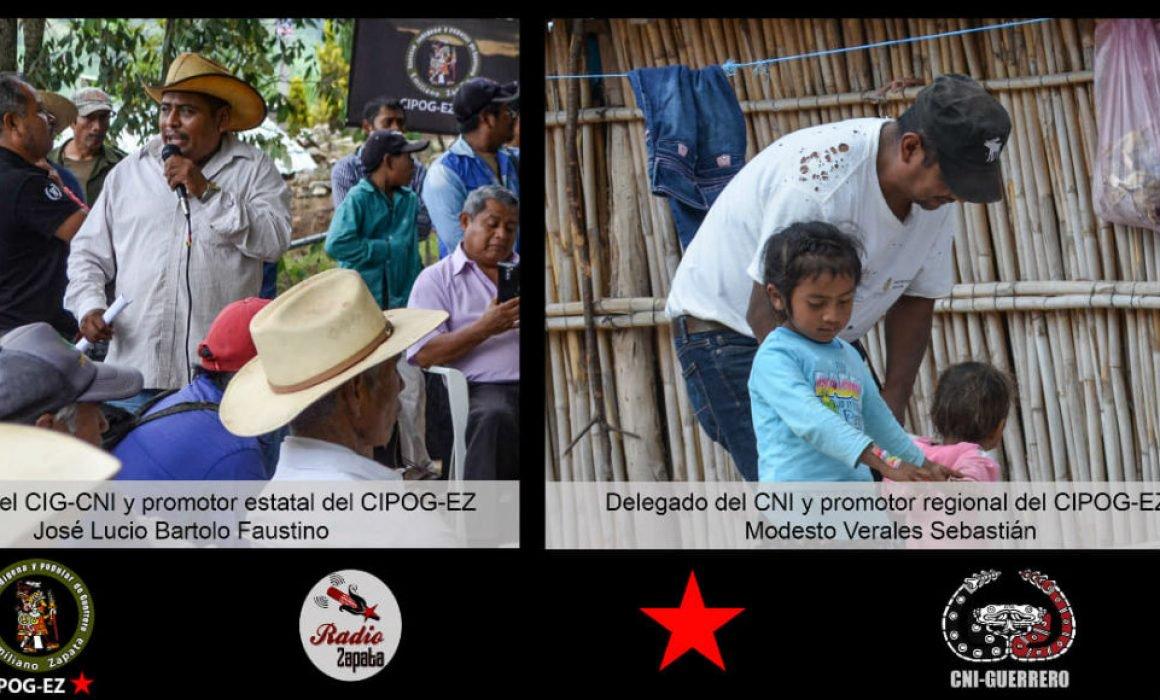 Condena Derechos Humanos homicidios de líderes comunitarios en Guerrero