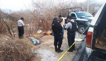 Localizan a dos jóvenes ejecutados en Huitzuco