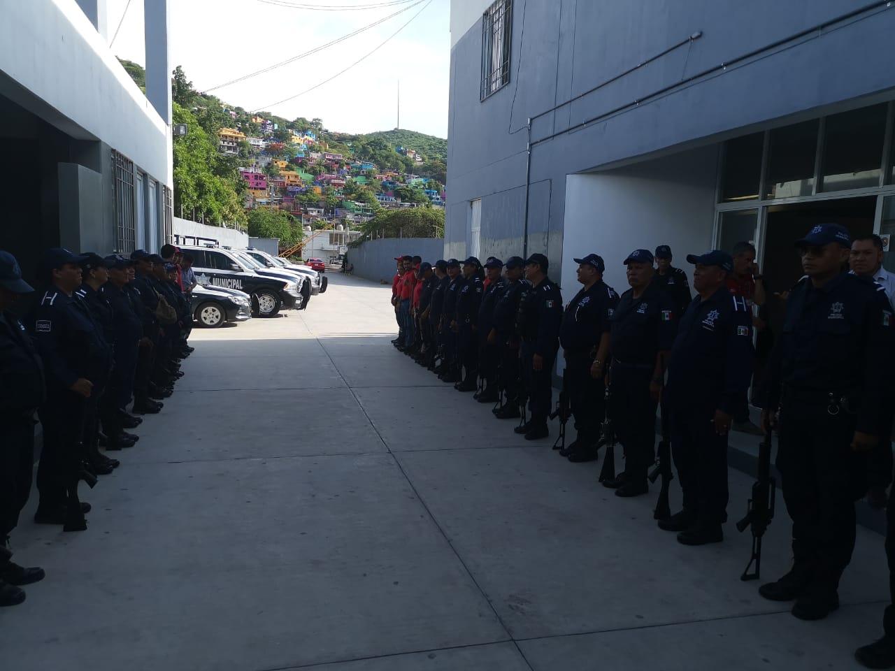 Después de casi 5 años, regresan armas a la Policía Municipal de Iguala