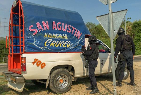 Levantan a chofer en Acapulco