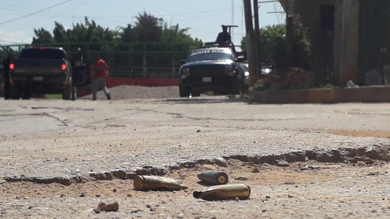 Balacera que dejó tres muertos, paraliza el Valle de Ocotito