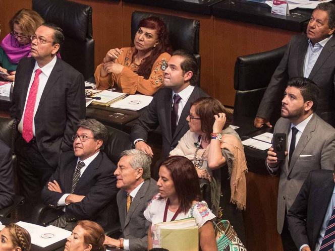 Senado va a receso sin acuerdo en revocación de mandato